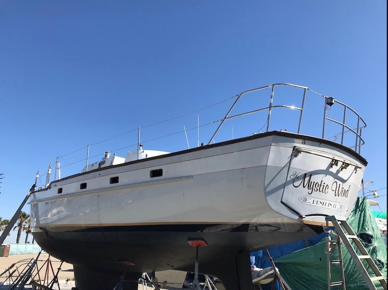 Yacht Paint Process