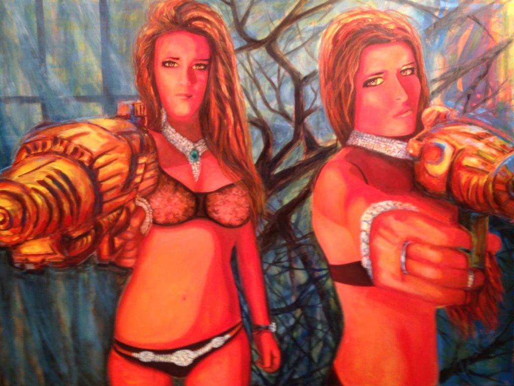 Women in Power Art