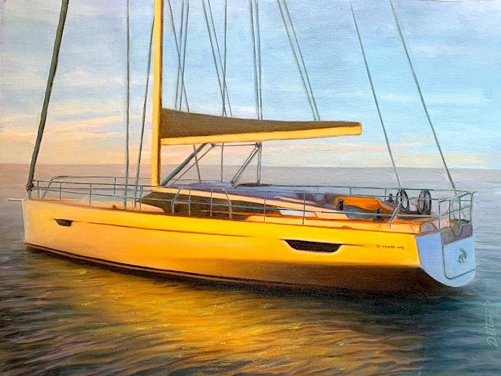 fine art- yacht