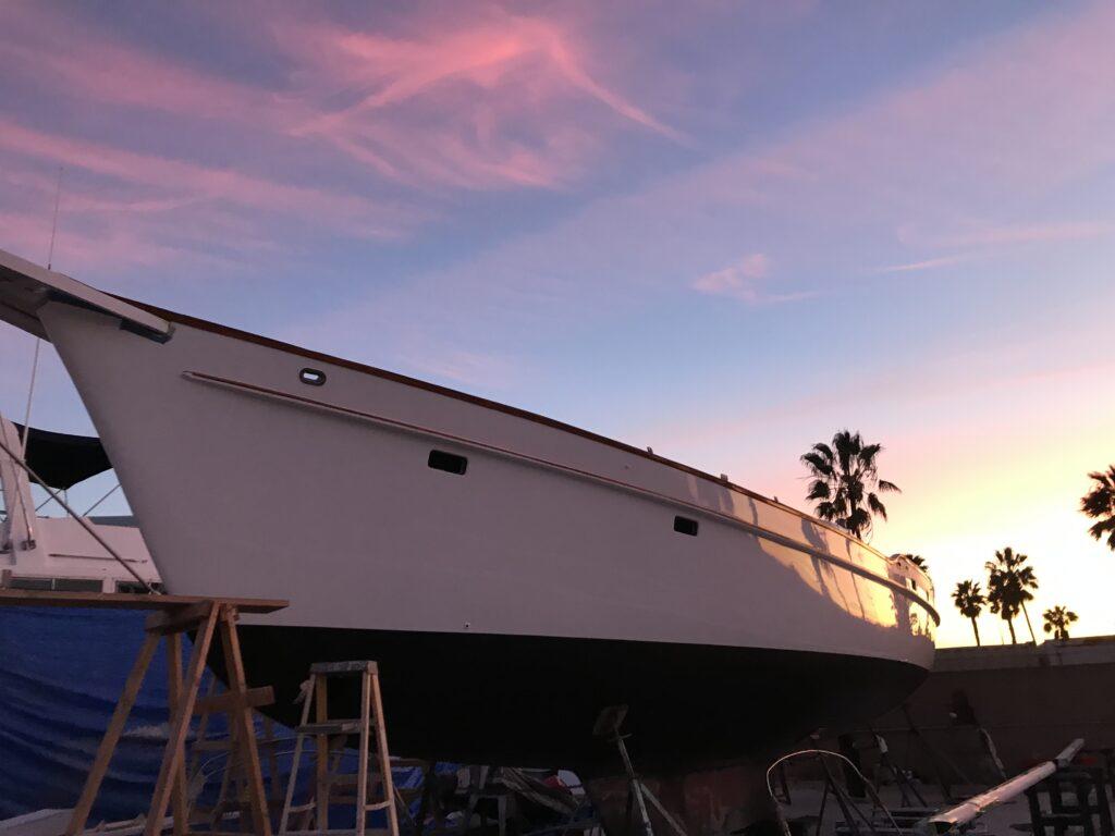 Yacht Cap Rail & Bow