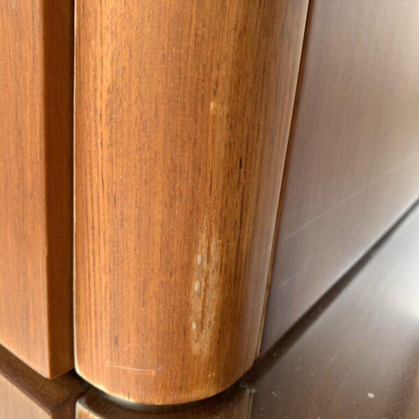 Riva Domino 88- Before wood table repair