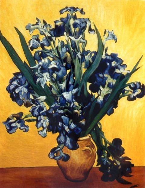 "Van Gogh reproduction oil on canvas 30"" x 36"""