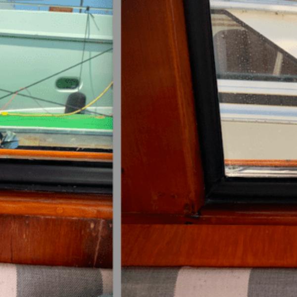 Before and After - veneer repair